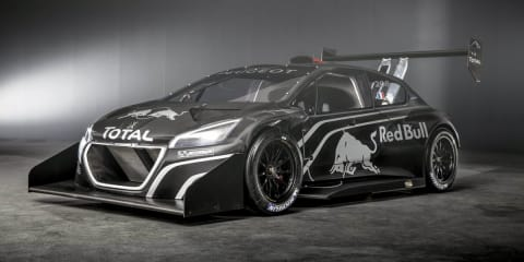 Peugeot 208 T16 Pikes Peak revealed
