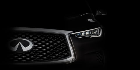 2018 Infiniti QX50 teased again, 200kW turbo engine onboard