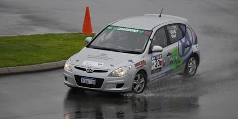 Hyundai i30 wins category in Targa rally