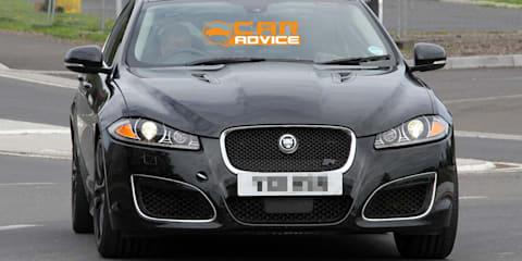 Jaguar XFR-S Spy Photos