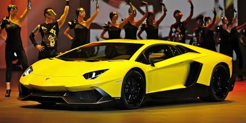 Lamborghini Aventador LP 720-4 50° Anniversario: debuts at Shanghai