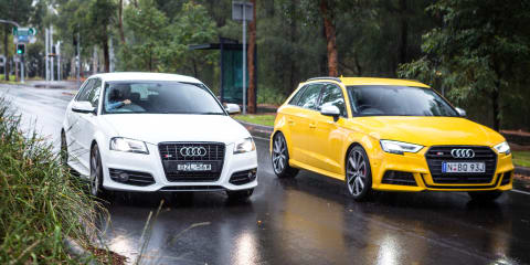 Audi S3 Sportback Old v New: 2017 Sportback v 2011 Black Edition