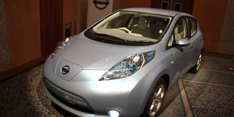 Nissan LEAF 100% electric car, zero emissions