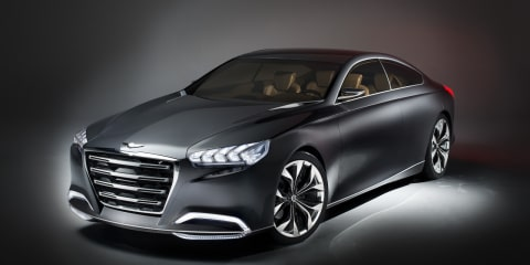 Hyundai HCD-14 Genesis concept previews future luxury sedans