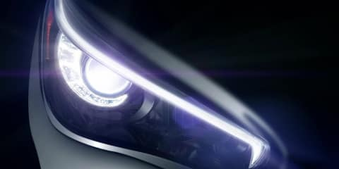 2013 Infiniti Q50: video teaser of new G sedan replacement