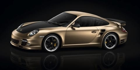 2011 Porsche 911 Turbo S China 10th Anniversary Edition