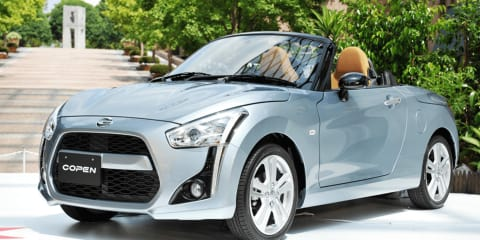Daihatsu Copen revealed: Second generation model features replaceable body panels