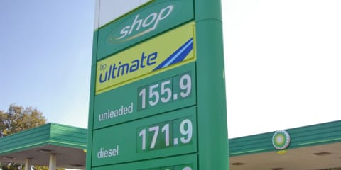 Unleaded petrol prices heading north again
