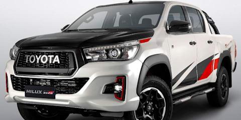 Toyota HiLux GR Sport revealed in São Paulo