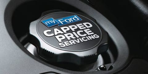 Ford Australia introduces myFord Capped Price Servicing