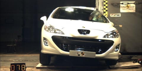 Peugeot 308 CC earns five-star ANCAP safety rating