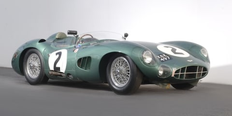 Aston Martin DBR1 returns to Le Mans in memory of legends