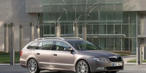2010 Skoda Superb Estate ready for Frankfurt