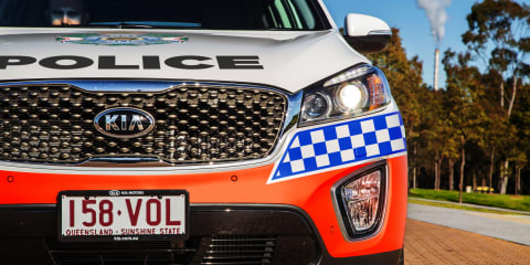 Kia Sorento in the mix for police fleet deals