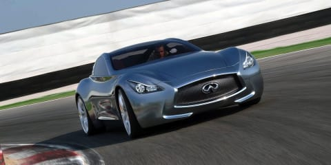 Infiniti considers Panamera-style four-door coupe