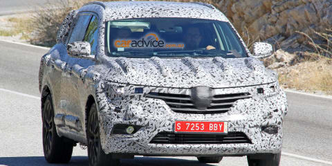 2016 Renault Koleos successor spy photos
