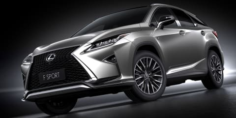 2016 Lexus RX200t revealed at Shanghai auto show