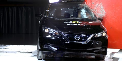 Nissan Leaf scores five stars in Euro NCAP testing