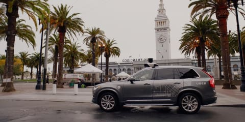 Volvo wins Uber self-driving contract