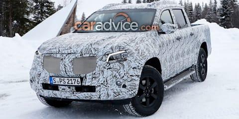 2018 Mercedes-Benz X-Class spied again