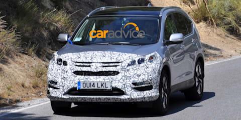 2015 Honda CR-V facelift spied