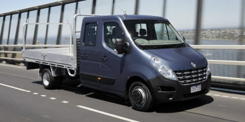 Renault Master ute range launched from $45,490