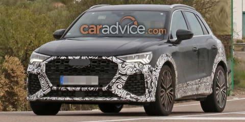 2020 Audi RS Q3 spied with less camouflage