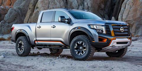 Nissan Titan Warrior pickup revives Baja vibes for Detroit