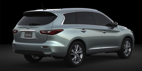 Infiniti QX60 Hybrid: efficient crossover to debut in New York