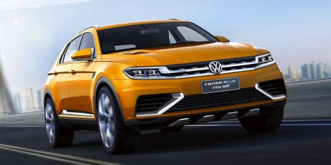 Volkswagen CrossBlue Coupe concept: compact SUV leaked
