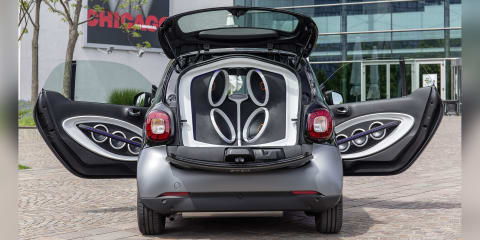 Smart ForGigs concept sports 5720W sound system