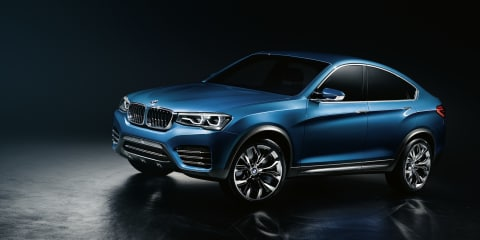 BMW X4 concept revealed ahead of Shanghai debut