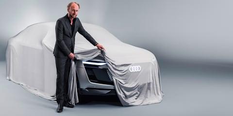 Audi e-tron Sportback Concept teased before Shanghai reveal