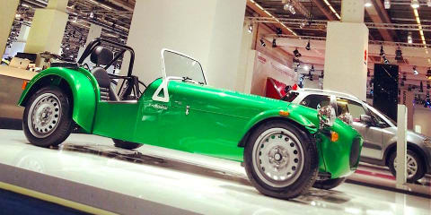 Caterham Seven 165: entry-level sports car unveiled