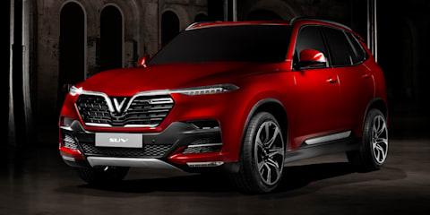 VinFast sedan and SUV revealed