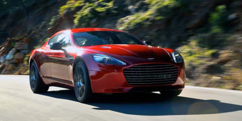 Aston Martin Rapide S launched