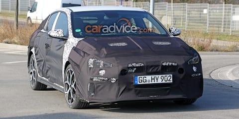2019 Hyundai i30 N Fastback spied