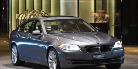 2012 BMW 5 Series range updated