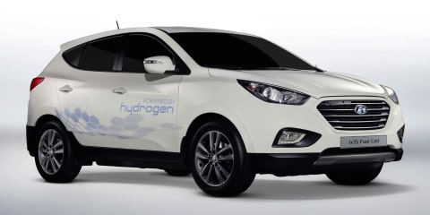 Hyundai ix35 Fuel Cell: hydrogen-powered SUV launching this year