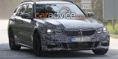 2019 BMW 3 Series Touring spied
