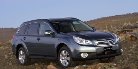 2011 Subaru Outback Touring special edition