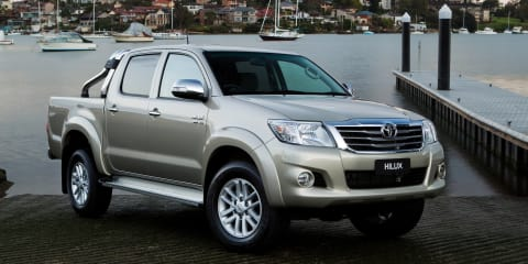 2014 Toyota HiLux : new auto, safety upgrades, price rises for double-cab ute