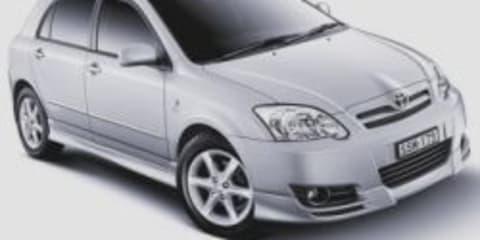 Toyota Corolla 2006 upgrades