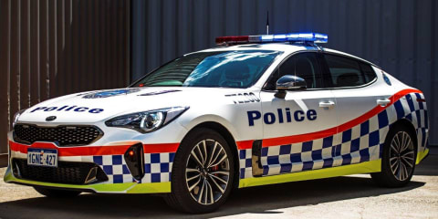 Kia Stinger joins Western Australia Police force