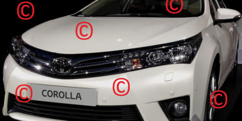Toyota Corolla sedan revealed in leaked images