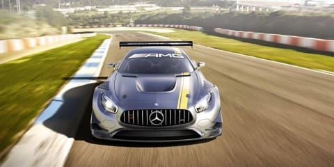 Mercedes-AMG GT3 race car leaked ahead of Geneva reveal