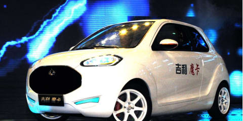 Geely McCAR unveiled at Auto Shanghai 2011