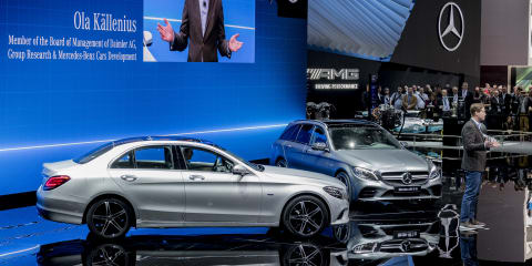 2018 Mercedes-Benz C-Class engines electrified