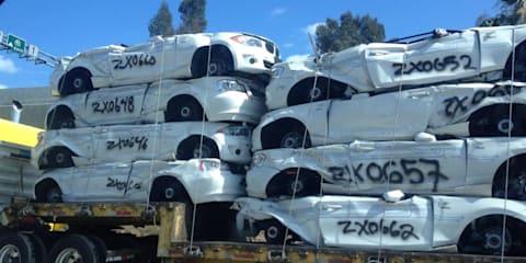 BMW ActiveE fleet sent to the crusher due to US regulations