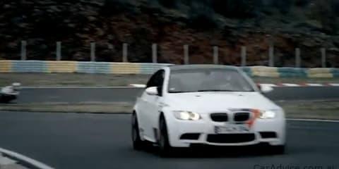 BMW S 1000 RR v BMW M3